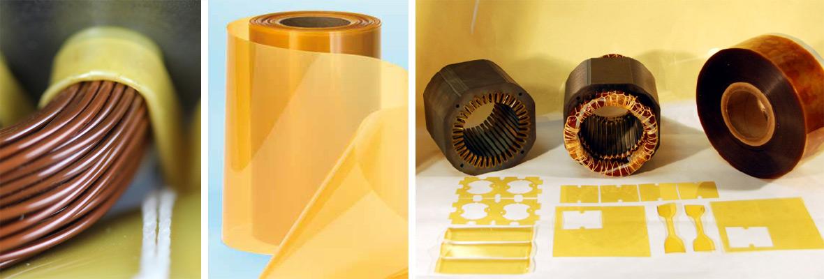 Matériaux d'isolation électrique flexibles
